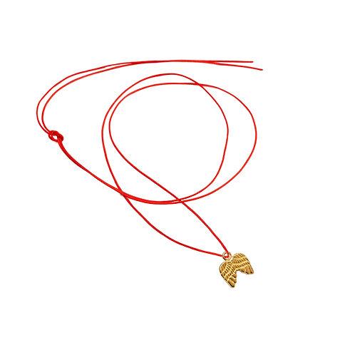 Collier Fil pendentif ailes Vermeil