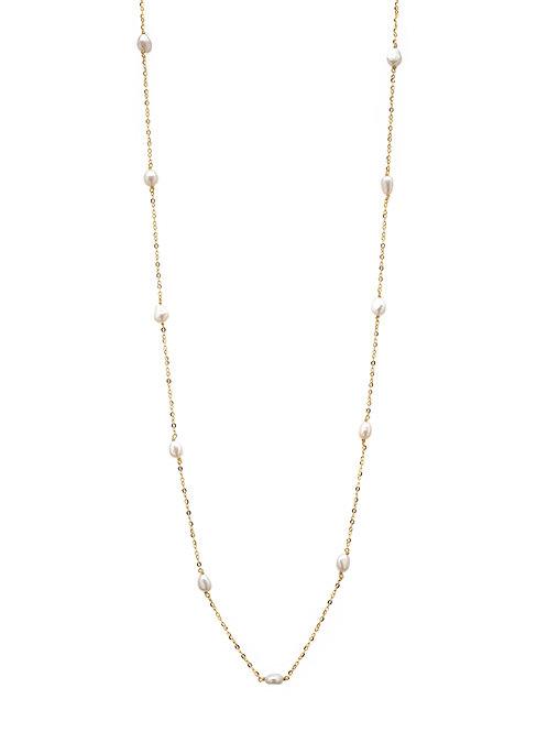 Océanne Vermeil perles blanches