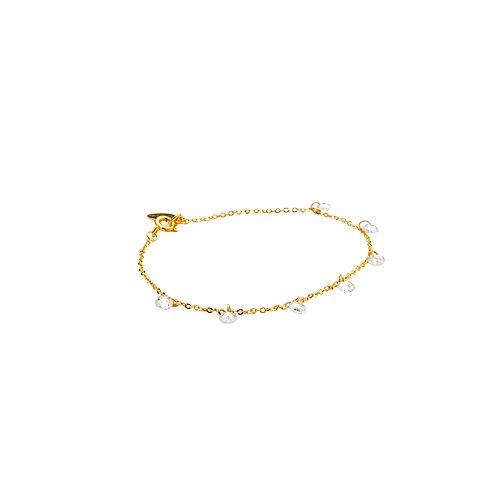 Bracelet Vermeil Zircons