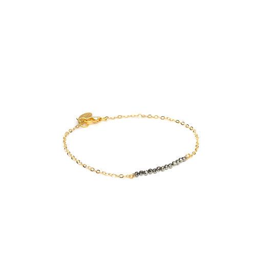Bracelet Vermeil Pyrite