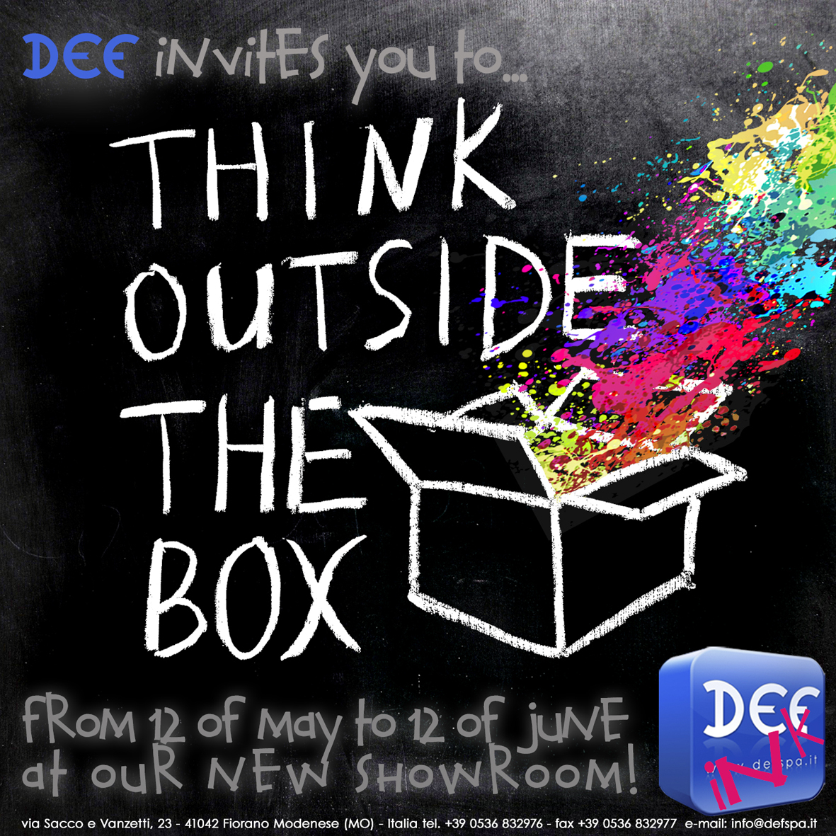 Think Outside The Box 2014