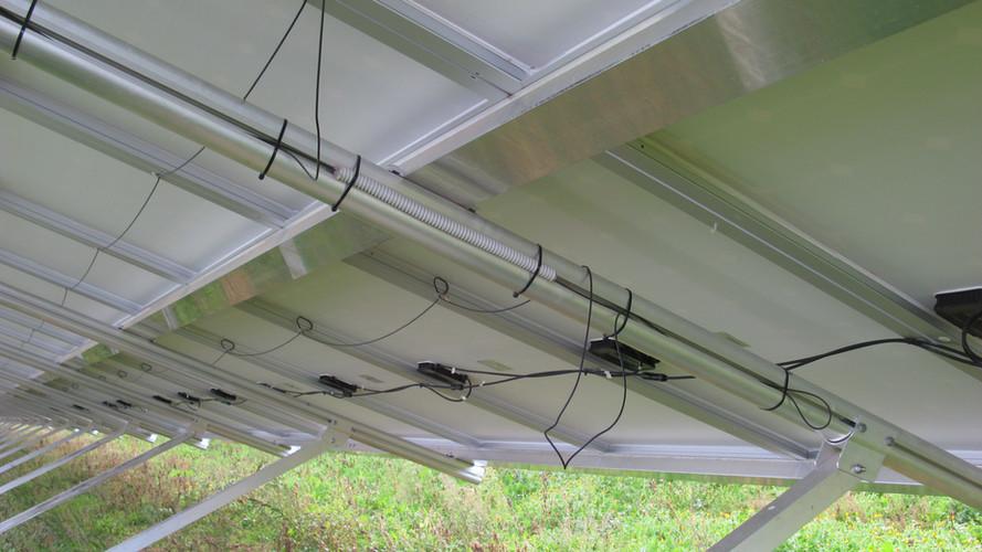 Paka- antifurto moduli fotovoltaici