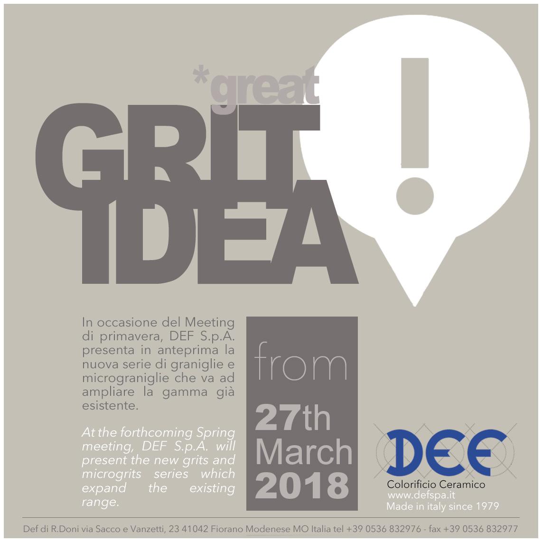 GritIdea 2018
