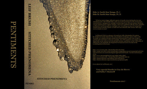 Leif Brush: Stitched Phenomena Album