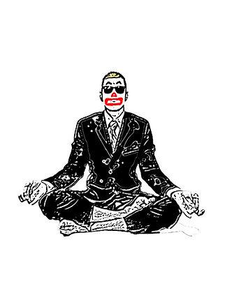 High Octane Meditation Sticker