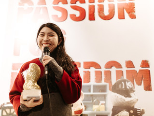 Tian Jiang Awarded the 2018 Passion For Freedom Golden Award