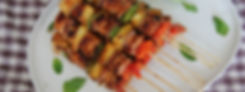 Hawaiian Chicken with Haloumi Skewers 2.