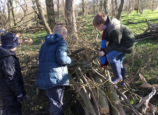 Stratford School Sustainability Programme - Tree Planting with Children from Holy Trinity Primary Sc