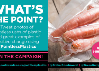 Help highlight #PointlessPlastics and clean up our oceans!