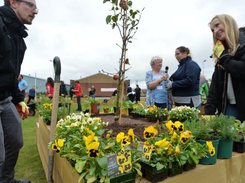 Wharton NIC supporting the Garden of Wel