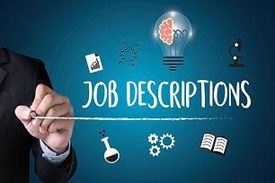 Job Descriptions  Human Resources, Emplo