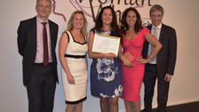Graduate Planet CIC awarded the Woman Who... Achieves Award 2018