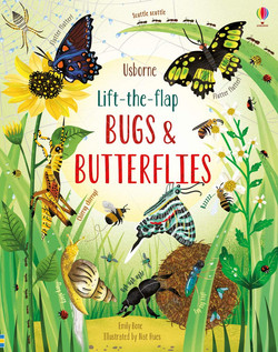 Lift-the-Flap Bugs and Butterflies Hardc