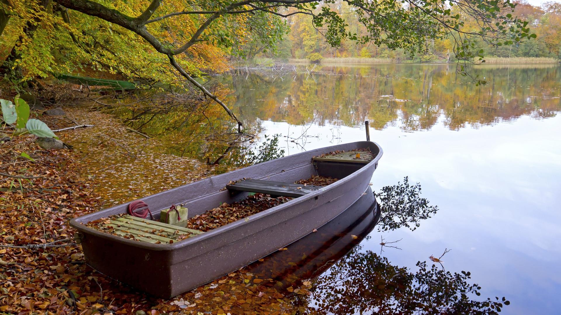 ... und romantische Uferplätze