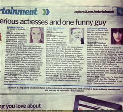 Newsday profiles Daniella