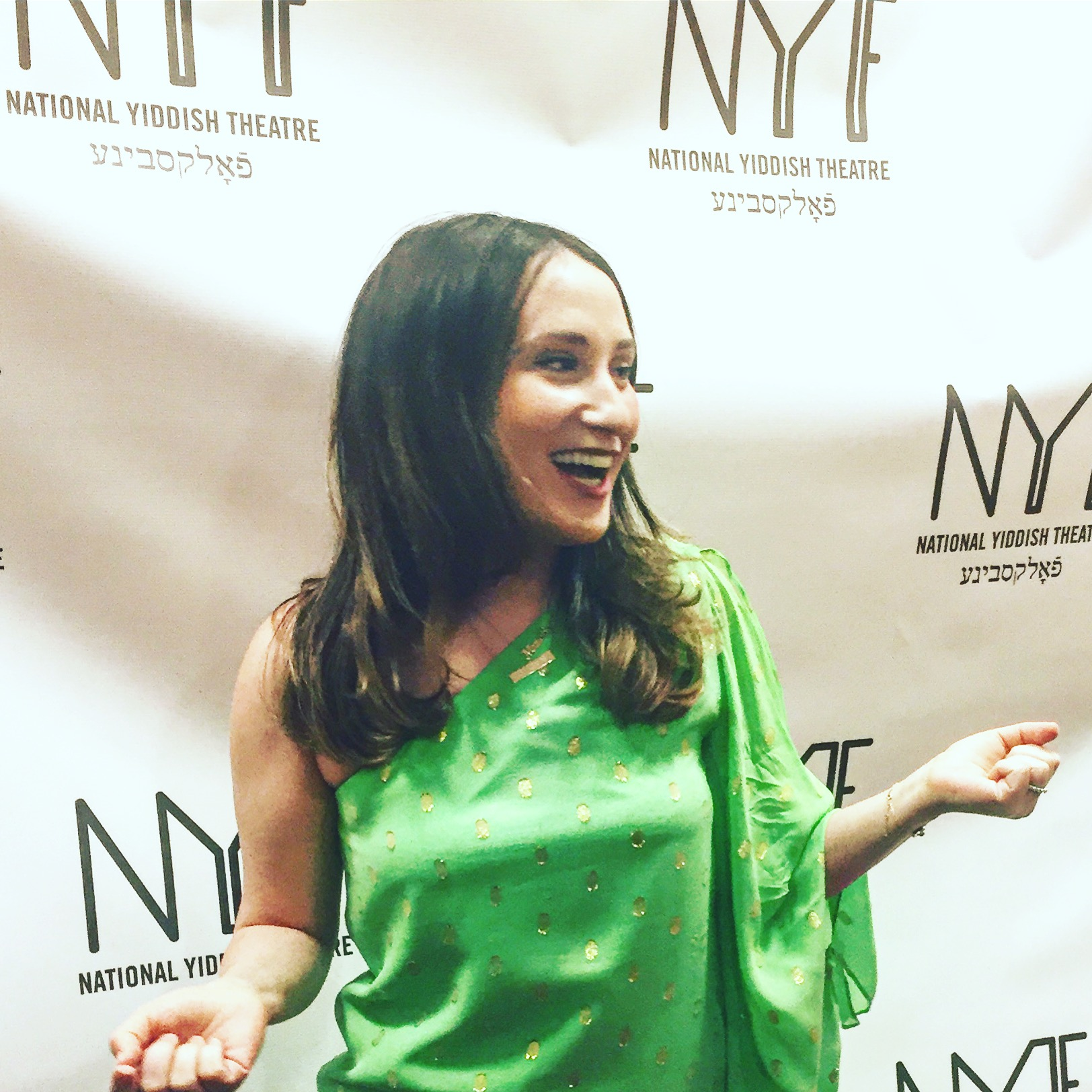 Red Carpet at the National Yiddish Theatre Gala