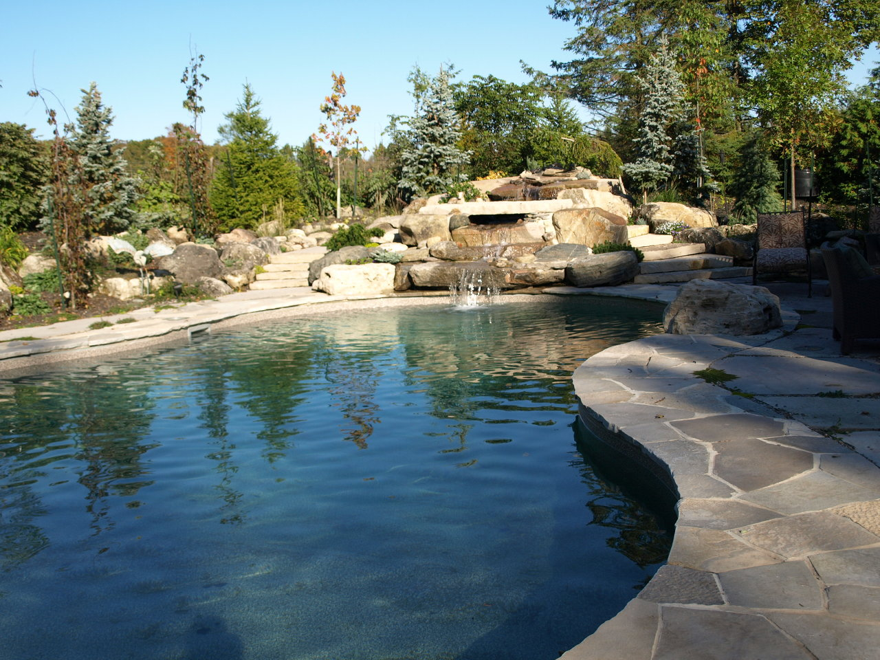 Oasis Pool and Waterfall