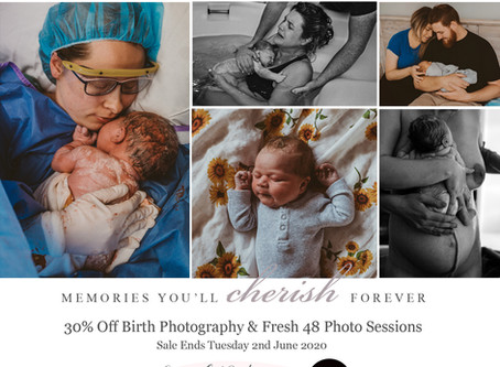 Open For Business! - Birth & Newborn Photography in Perth