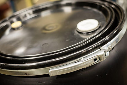 Reconditioning and cleaning services are offered for:  30 gallon, 35 gallon, and 55/57 gallon open-head and closed-head plastic drums.