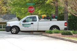 Landscaping Truck on Parkins Mill Rd