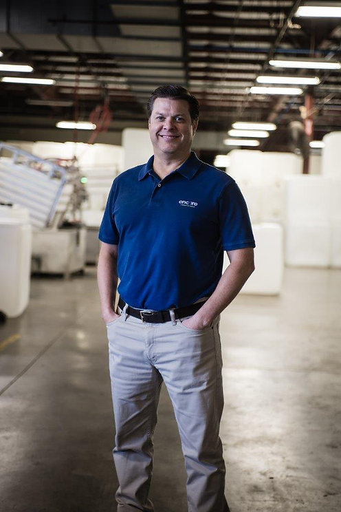 Reconditioning and cleaning services are offered for:  30 gallon, 35 gallon, and 55/57 gallon open-head and closed-head plastic drums. CEO Chad Odom was named Ernst & Young Entrepreneur of the Year for manufacturing and services.