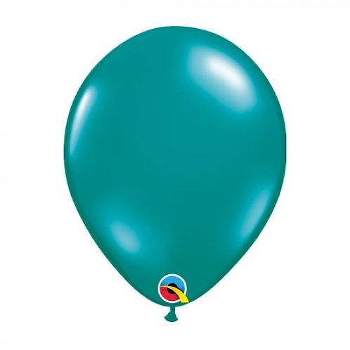 Single 28 cm latex helium Jewel Teal