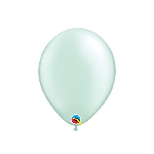Single 28 cm latex helium Pearl mint green