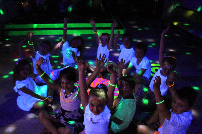 UV glow party.