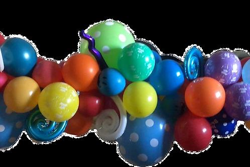 1.5 meter Organic Balloon Garland