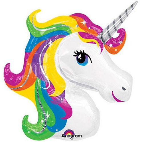 Super shape foil unicorn