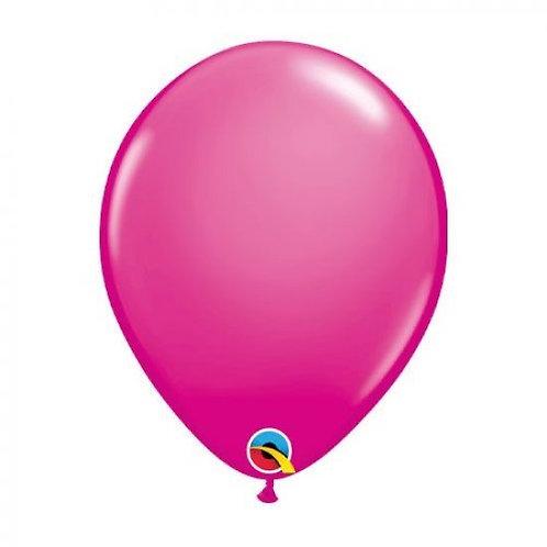 Single Fashion Wildeberry 28 cm latex helium filled