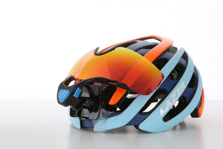 자전거 헬멧 탈부착 고글
