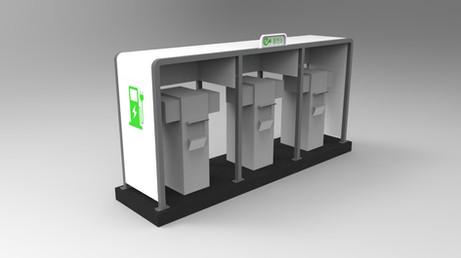 전기차 충전소 캐노피