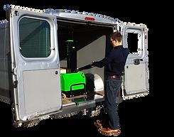 rampa ribaltabile furgone