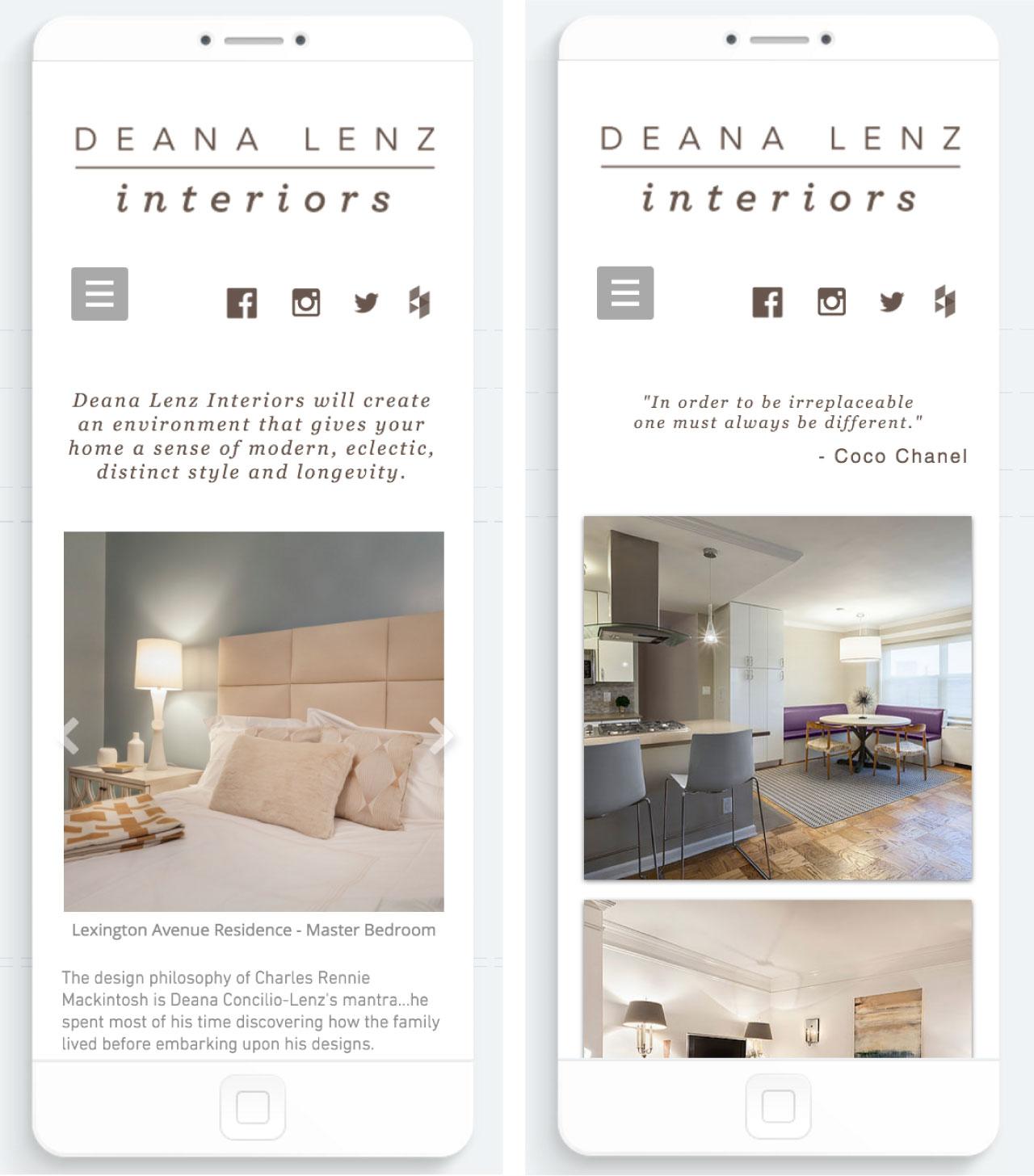 Deana Lenz Interiors | Website
