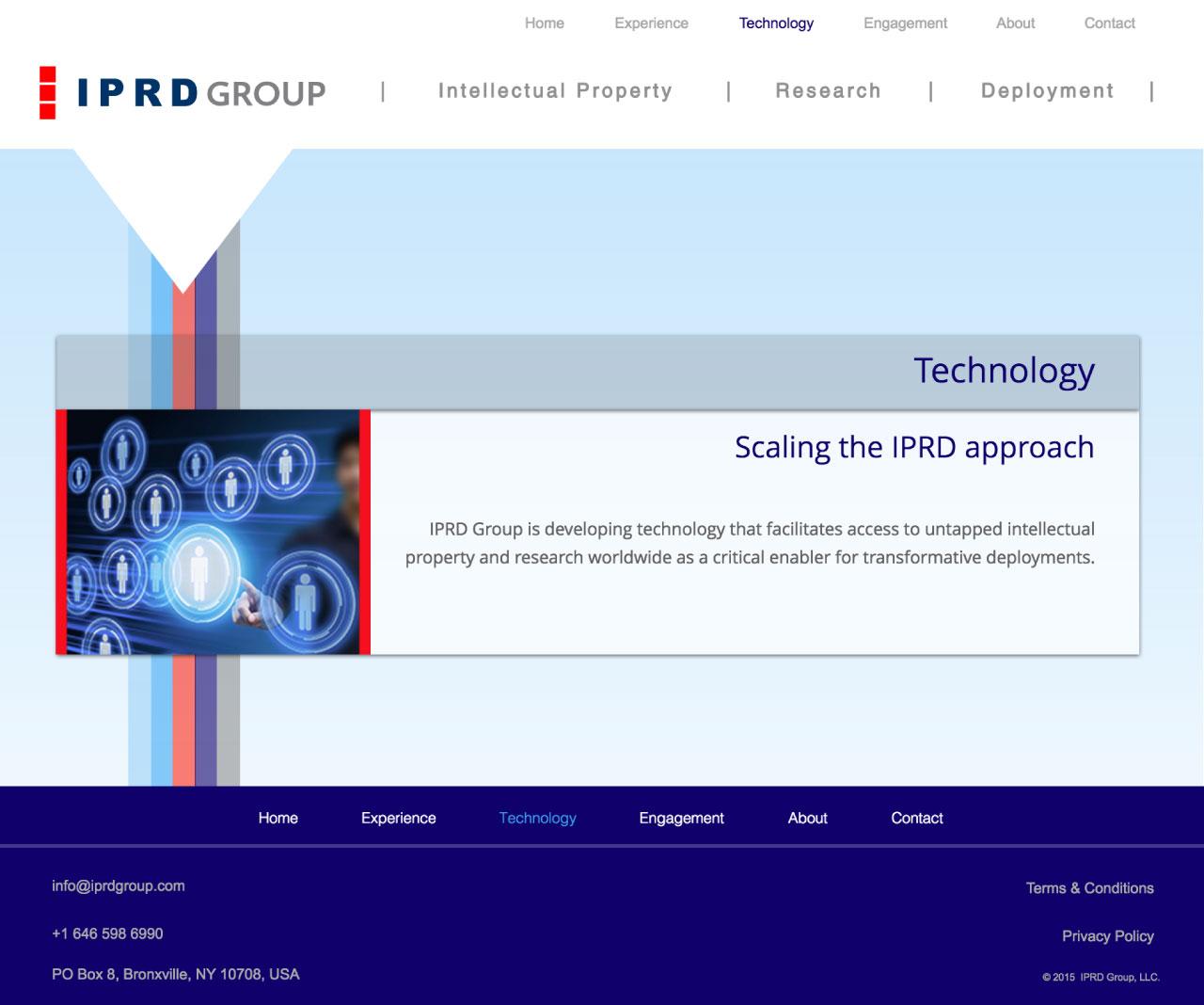 IPRD Group | Website