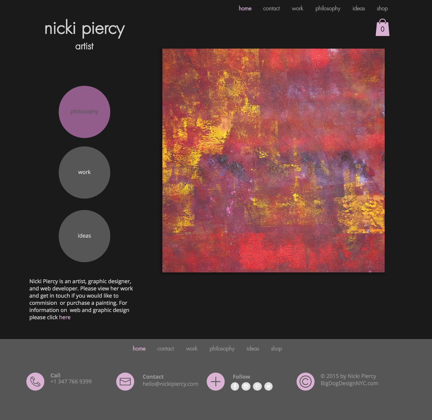 Nicki Piercy | Artist | Website