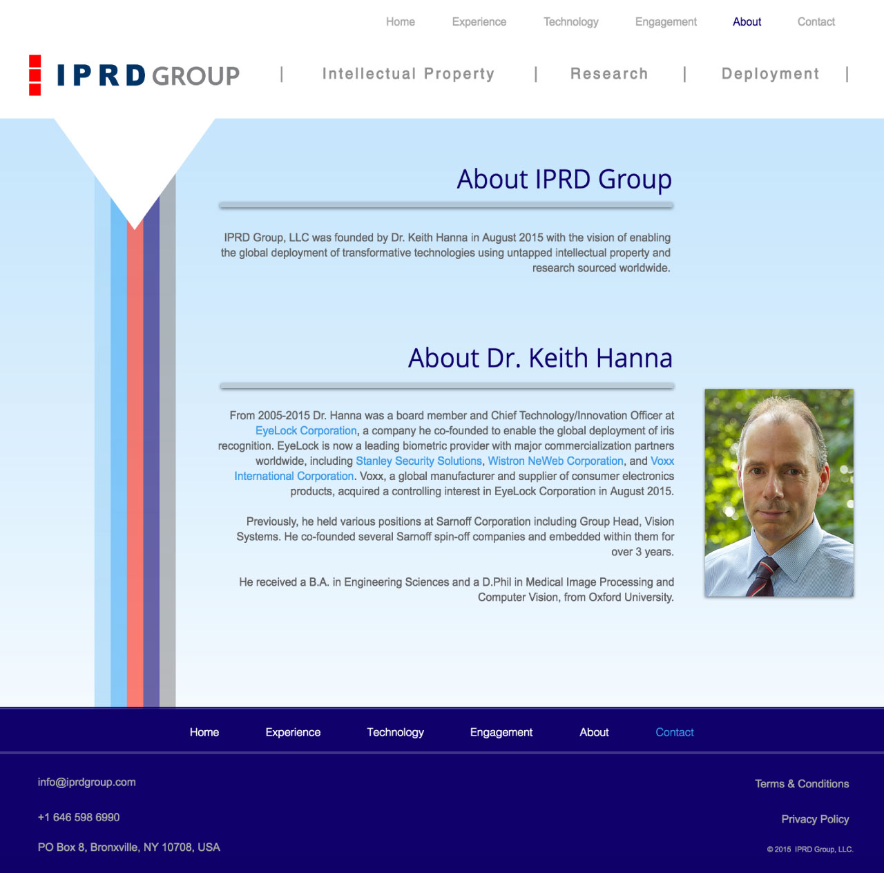 IPRD Group | Website