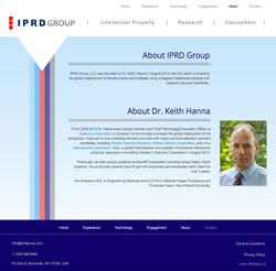 IPRD Group   Website