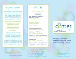 The Center NY Brochure