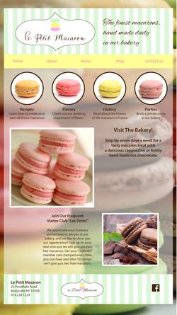 Le Petit Macaron   Website