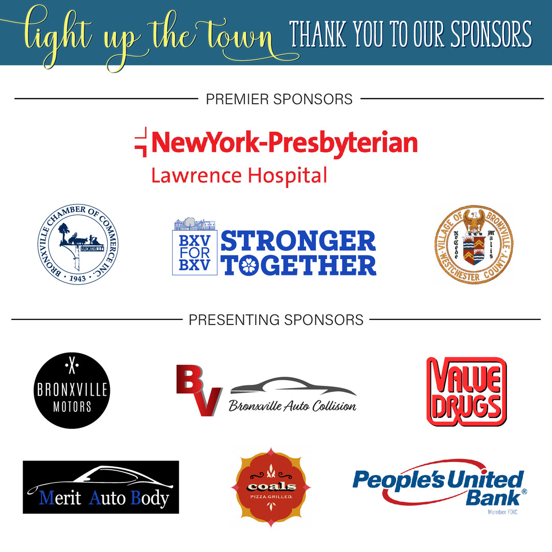 Light Up the Town Sponsors