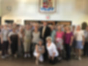 Bxv Seniors with County Legislator Gordo
