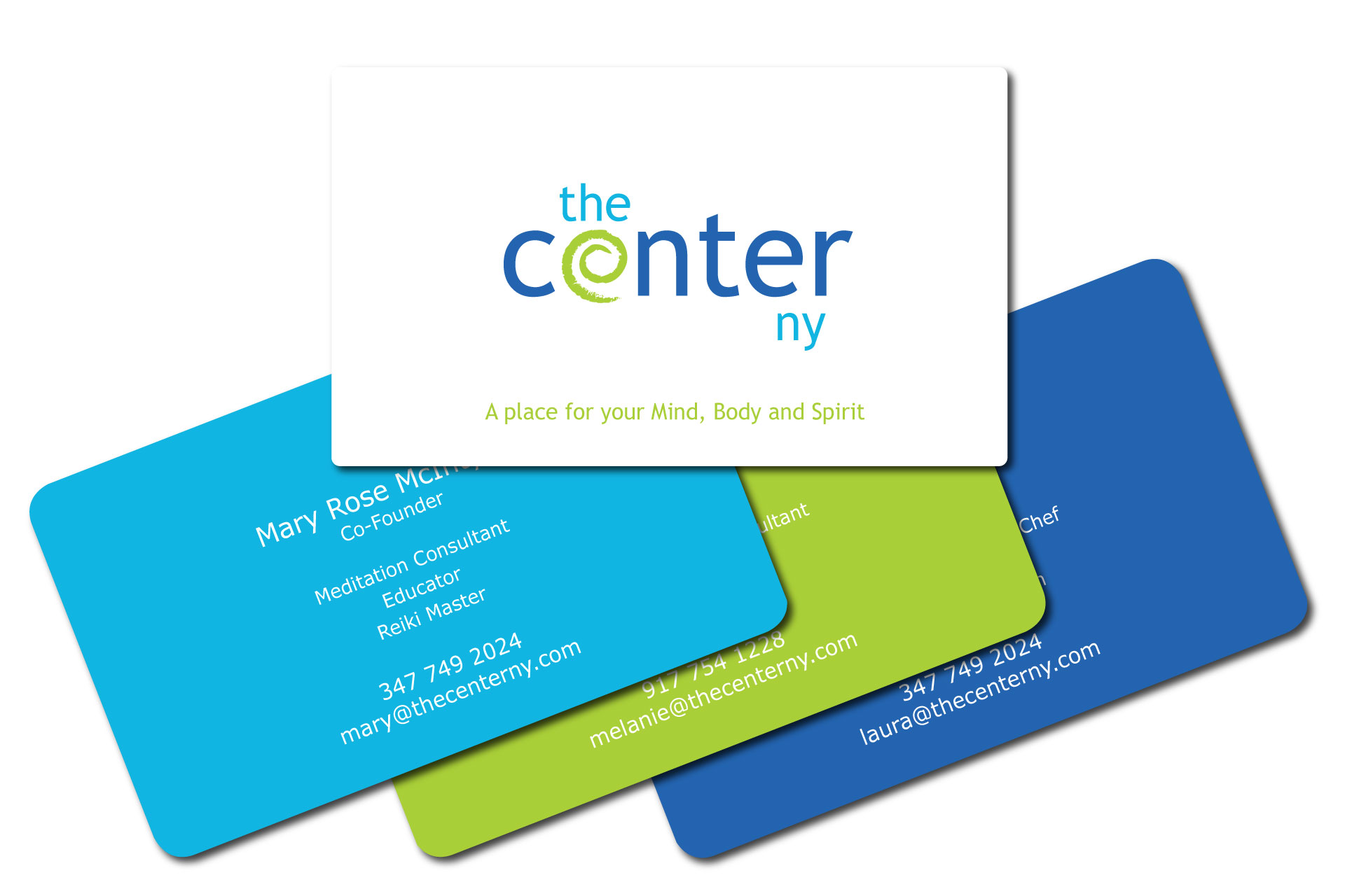 The Center NY Business Card