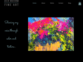New Work, New Website...