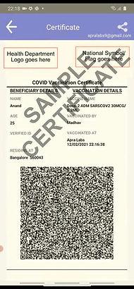 DIVOC certificate generic sample.jpg