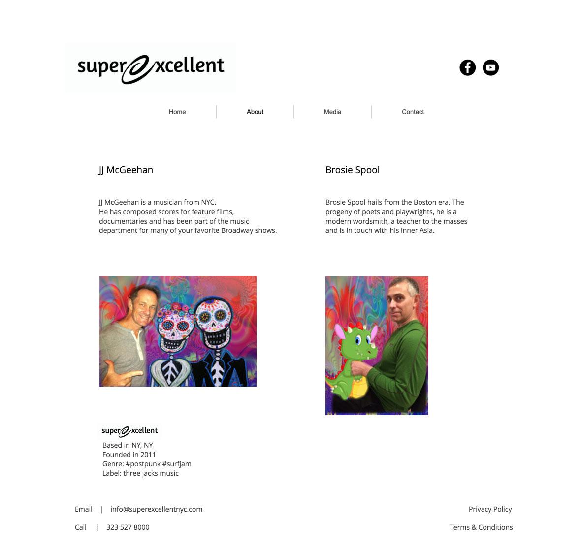 SuperExcellent Band | Website