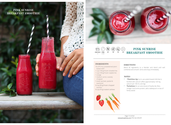 PUL E-cookbook Smoothie Recipe
