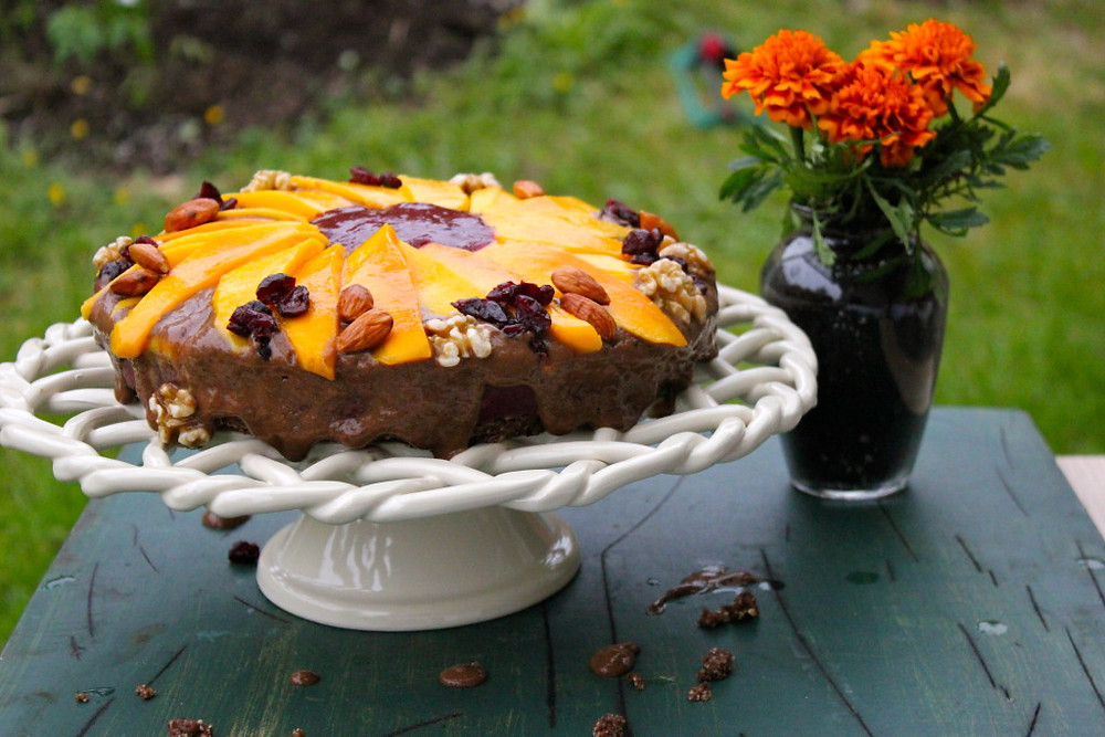 A divinely scrumptious and antioxidant-rich alternative to the Dairy Queen Ice Cream Cakes.