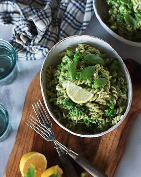 Creamy Green Leek & Pea Pasta.jpg